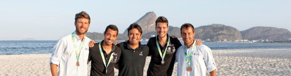TEAM ZAOLI 470 SAILORS STEP UP TO THE CHALLENGE AT RIO TEST EVENT SECURING SILVER AND BRONZE